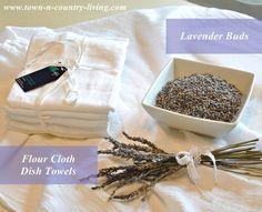 DIY Making Lavender Sachets