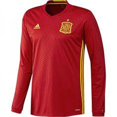 9c117b3756bfd Camiseta oficial selección española fútbol manga larga online - Tienda  oficial Selección Española de Fútbol Camiseta