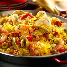 Shrimp Paella Recipe I tried this when I was in London & I absolutely loved it!