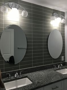 Beveled Mirror, Bathroom, Furniture, Home Decor, Washroom, Decoration Home, Room Decor, Full Bath, Home Furnishings