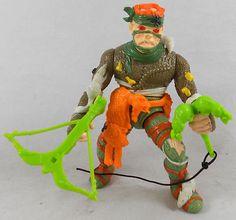 Vintage 1989 TMNT Teenage Mutant Ninja Turtles Rat King Figure