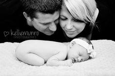 family newborn poses