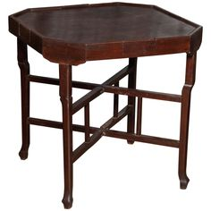 Card Table from Cambodia | From a unique collection of antique and modern card tables and tea tables at http://www.1stdibs.com/furniture/tables/card-tables-tea-tables/