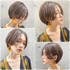 ショート:ボブ/アレンジ 坂藤友紀さんはInstagramを利用しています:「. ワンカール巻いて ゆるっと動きのあるショートヘア✂︎ ワンカールパーマもオススメです☝︎✨ . その日の気分やファッションによってスタイリングの仕方を変えるのも 楽しいですよね❤︎❤︎❤︎ . 毎日スタイリングするのがワクワク するような楽しくなるように…」 Very Short Hair, Cute Hairstyles For Short Hair, Girl Hairstyles, Short Hair Styles, Hair Inspo, Hair Inspiration, Hair Setting, Haircut And Color, Salon Style