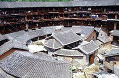 Hakka tulou mud buildings