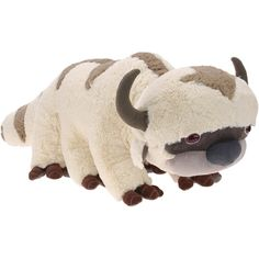 Appa plushie!! If I cant have a real flying bison, a cuddly toy will do...