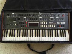 MATRIXSYNTH: Vintage Kawai SX-210 Analog Synthesizer