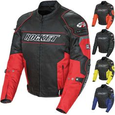 2015 Joe Rocket Riding Chopper Resistor Mesh Street Motorcycle Jacket