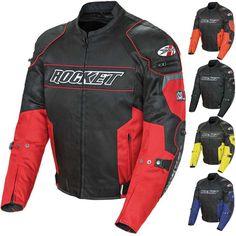 2015 Joe Rocket Riding Chopper Resistor Mesh Street Motorcycle Jacket
