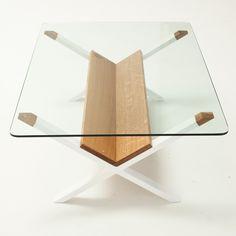 Sean Woolsey | X Coffee Table White Oak