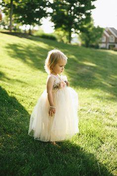 tulle flower girl | Andrew Allen Morton #wedding