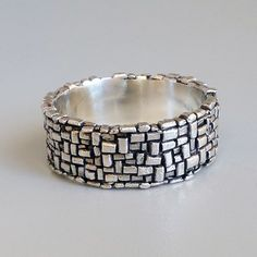 Path Ring by dmdmetal on Etsy, $175.00