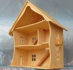 Puppenhaus ohne Möbel verkauft, kann Möbel separat bestellt werden! Link für Möbel ist hier - https://www.etsy.com/listing/229725561/handmade-miniature-wooden-furniture-for?ref=shop_home_active_1 Der Baum hat eine außergewöhnliche Kraft. Baum - das beste Material für Kinderspielzeug: