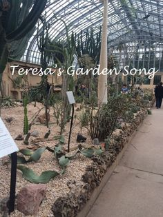 Reopened and replanted Desert House at Garfield Park Conservatory - 2015. More photos on this blog  http://chicagomastergardner.blogspot.com/2015/05/grand-reopening-desert-house-at.html
