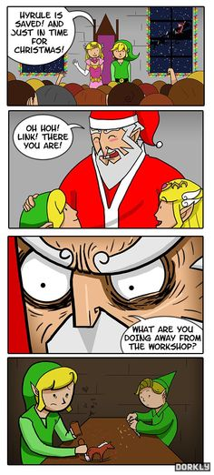 Poor Link. His day job sucks.<< I laughed too much at this xD
