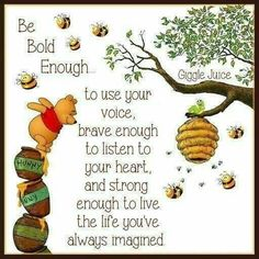 Winnie the Pooh quotes are helpful for every aspect of life. These Winnie the Pooh quotes will help you to discover your own Hundred Acre Wood. Life Quotes Love, Cute Quotes, Great Quotes, Inspirational Quotes, Bff Quotes, Qoutes, Friend Quotes, Honor Quotes, Movie Quotes