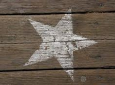 Rockin' that star the country way (the way it's meant to be): I See Stars, Look At The Stars, Love Stars, Stars And Moon, Star Decorations, Star Art, Twinkle Twinkle Little Star, Star Shape, Spray Painting