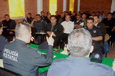 """Efectúa SSPE reunión con 50 directores de seguridad                      ·         En esta tercera asamblea acordaron reforzar la seguridad en el periodo vacacional de """"Semana Santa"""""""
