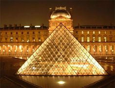 The Louvre Pyramid (Pyramide du Louvre)
