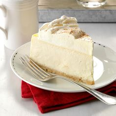 RumChata Cheesecake Recipe -I like to experiment and make new and unusual-flavored cheesecakes. When I tried RumChata at a friend's party, I knew it would make a great cheesecake. For a pretty presentation, drizzle it with caramel syrup or topping or toasted coconut. —Christine Talley, Hillsboro, Missouri