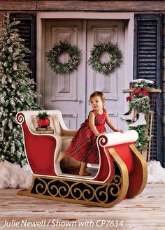 Sleigh Prop - Large | Photography Props