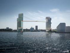"Steven Holl's ""Copenhagen Gateway"" Will Finally Go Ahead (Terrifying Bike Lane Included)"