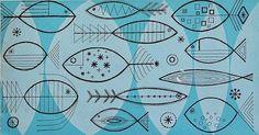 vintage fish
