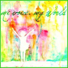 MI Voice. MY World. (cd cover) -by pdchua2@deviantART