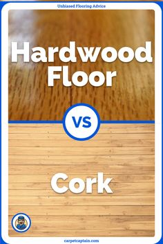 You're definitely familiar with hardwood floors. But cork flooring? Isn't cork something you use to plug your wine bottle? Well yes, but it's also used in flooring. And I think it's one of the most underutilized floors. I'll explain why in this article! Cork Flooring, Flooring Options, Explain Why, Types Of Wood, Hardwood Floors, Things To Think About, Advice, Wine, Bottle