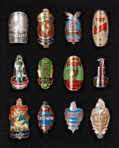 Bicycle Badges 2 (England) | Top row: PHILLIPS, The COCK, EA… | Flickr
