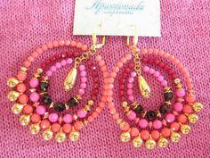 Aros de Complementos Appasionada! Crochet Earrings, Jewelry, Fashion, Accessories, Jewellery Making, Moda, Jewerly, Jewelery, Fashion Styles