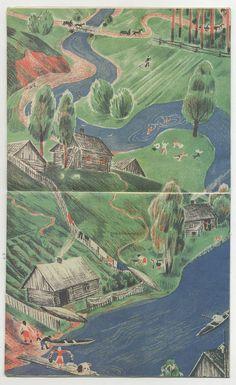 Elena Safonova The River 1930