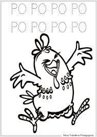 Resultado de imagem para desenhos da galinha pintadinha e sua turma para colorir