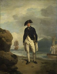 Arthur Phillip (1738-1814), Vice-Admiral, first Governor of New South Wales by Francis Wheatley, oil on canvas, 1786 (National Portrait Gallery).