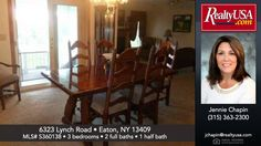 Homes for sale 6323 Lynch Road Eaton NY 13409  RealtyUSA