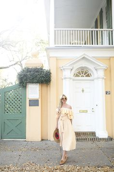 Atlantic-Pacific // Blair Eadie Yellow Stripes Charleston
