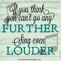 Sing-  I used to love to sing solo's or Duet's and choirs.  There is somthing amazing that happen when you sing.  It's JOY!