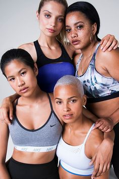 Designed with your best moves in mind. Floral Sports Bras, Women's Sports Bras, Nike Football, Nike Basketball, High Support Sports Bra, Sports Memes, We Are The World, How To Pose, Beauty