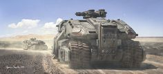 ArtStation - Heavy Duty, Antonis Karidis