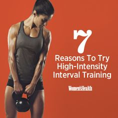 7 Reasons To Try High-Intensity Interval Training http://www.womenshealthmag.com/fitness/high-intensity-interval-training