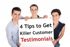 Testimonials from satisfied customers are extremely powerful marketing tools! #cactusmailing #directmail