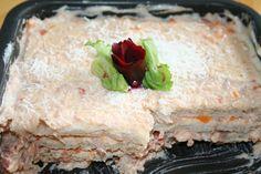Aprenda a preparar a receita de Torta de pão de forma cremosa com atum