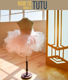 How To Make a Tutu Skirt | Easy No Sew Tutorial