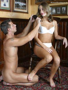 Femdom househusband servant