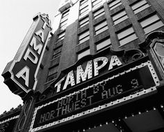 The Tampa Theater- Argosy University Graduation 2/2006...Masters in Mental Health Counseling
