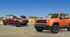 Win a 2015 Jeep Renegade or Cherokee