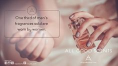#DidYouKnow #Fact Did you know? 33% of men's perfumes are worn by women. There is no strict definition about the masculinity or femininity of a fragrance. According to recent numbers, about one third of all 'perfume for him' are actually worn by women.