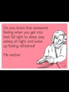 Cough all day. Cough all night. Welcome to No-Sleep Sunday!