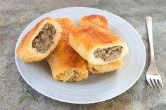 Bezglutenowe krokiety wigilijne Spanakopita, Ethnic Recipes, Food, Essen, Meals, Yemek, Eten