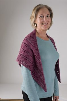 Oscilloscope Shawl - Knitting Project Diaries - Knitting Daily